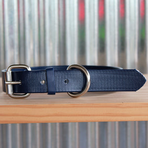 Navy Blue Dog Collar