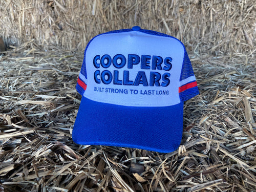 Blue & Red Coopers Collars Hat