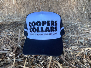 Black & White Coopers Collars Hat