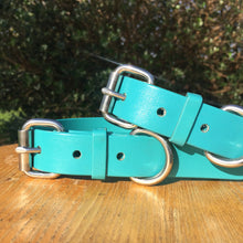 Load image into Gallery viewer, Teal Green Dog Collar