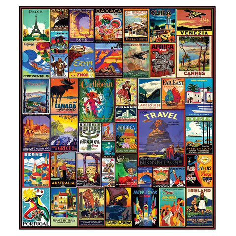 Travel the World Jigsaw Puzzle