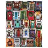 Holiday Doors Jigsaw Puzzle