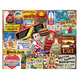 Vintage Signs Jigsaw Puzzle