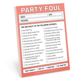 Party Foul Nifty Notes