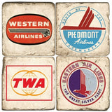 Airlines Drink Coasters
