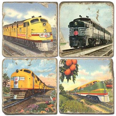 Trains Drink Coasters