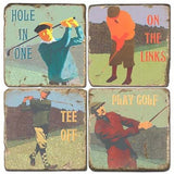 Golfing Drink Coasters