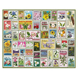 State Flower Stamps Jigsaw Puzzle