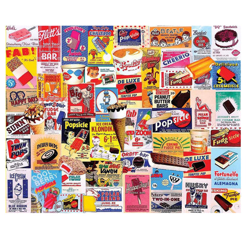 Ice Cream Bars Jigsaw Puzzle