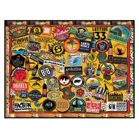 CA Craft Beer Jigsaw Puzzle