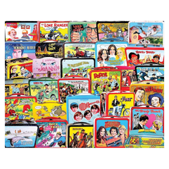 TV Lunch Boxes Jigsaw Puzzle