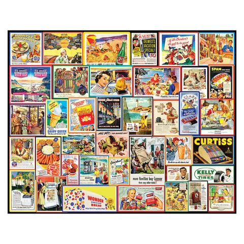Great Old Ads Jigsaw Puzzle
