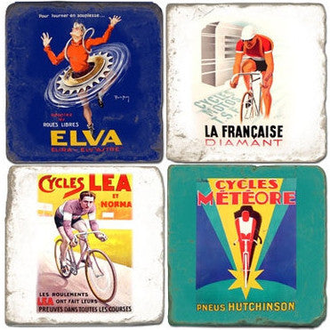 Bike Drink Coasters