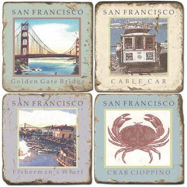 San Francisco Drink Coasters