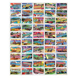 State Greeting Stamps Jigsaw Puzzle
