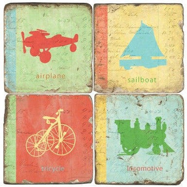 Transportation Drink Coasters