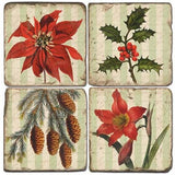 Holiday Greens Drink Coasters