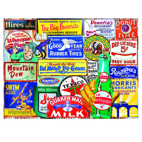Classic Signs Jigsaw Puzzle