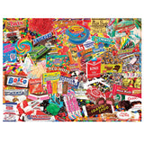 Old School Candy Jigsaw Puzzle