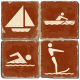 Water Fun Drink Coasters