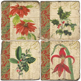 Holiday Foliage Drink Coasters