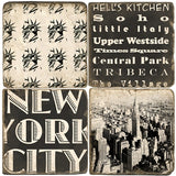 NYC B&W Drink Coasters