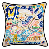 Malibu Hand-Embroidered Pillow