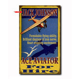 Ace Aviator Custom Sign