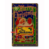 Merry Christmas Custom Sign