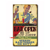 Bartender Custom Sign