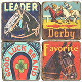 Horse Race Drink Coasters