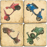 Scooter Drink Coasters