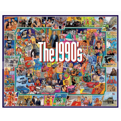 The 1990s Jigsaw Puzzle