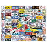 License Plates Jigsaw Puzzle
