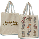 California 9 Bears Tote
