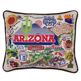 University of Arizona Collegiate Embroidered Pillow