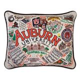 Auburn University Collegiate Embroidered Pillow