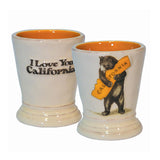 Bear Hugging, I Love You California Shot Glass