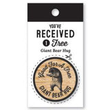 Wooden Nickel - Giant Bear Hug