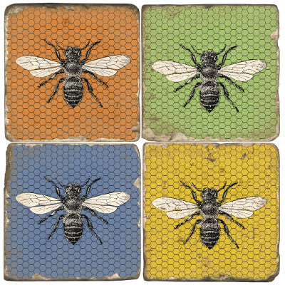 Bee Drink Coasters