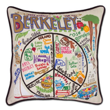 Berkeley Hand-Embroidered Pillow