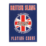 British Slang Lingo Cards