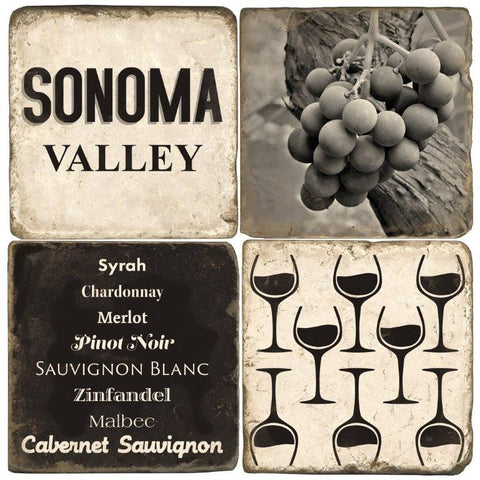 Sonoma Valley Drink Coasters