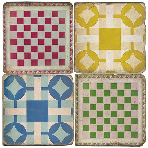 Game Boards Drink Coasters