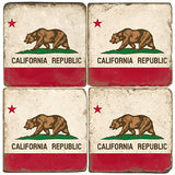 California Flag Drink Coasters