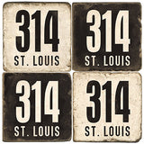 St. Louis Area Code 314 Drink Coasters