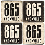 Knoxville Area Code 865 Drink Coasters