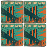 Brooklyn Drink Coasters