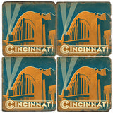 Cincinnati Drink Coasters