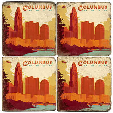 Columbus Drink Coasters